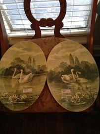 Swan companion plaques