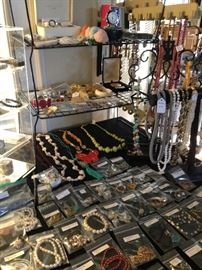 Some of the jewelry selections