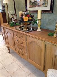 Extra long French Country buffet