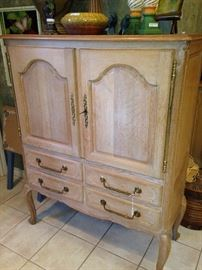 French Country storage armoire/cabinet