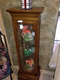 Display cabinet/plant stand