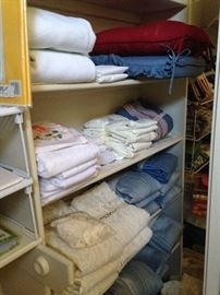 Sheets, towels, cushions, and more