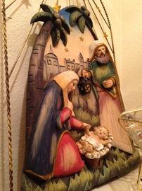 Wall display nativity
