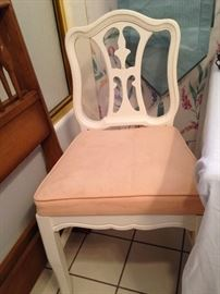 Desk or vanity chair