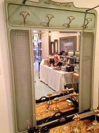 French Provincial wall vanity/bedroom mirror