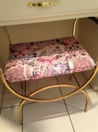 Another vanity stool