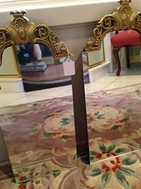 Pair of smaller mirrors