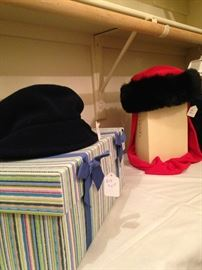 More hat choices