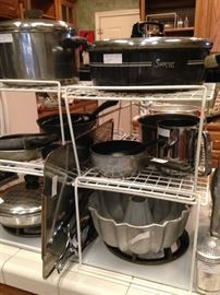 Pots, pans, and baking items