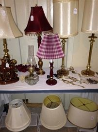 More lamps and shades