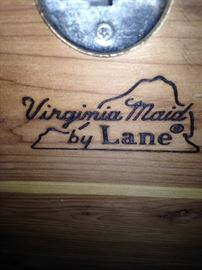"""Virginia Maid"" by Lane cedar chest"