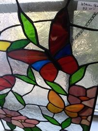 Butterfly stain glass