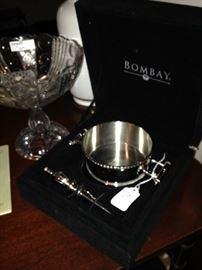 Bombay wine coaster set