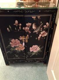 Black 2-door Asian chest