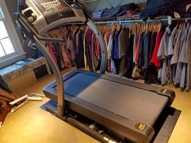 Top of the line X9i incline trainer treadmill. Watch TV while you work out on the screen!