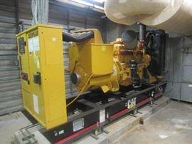 Caterpillar 500 KVA Generator Set Model LC6 #1