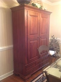 Solid Wood Hutch $ 300.00