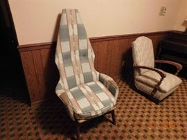 MCM Adrian Pearsall teak chair.