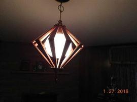 Mid Century Modern ceiling light.