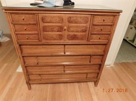 Mid Century Modern bed room set by Thomasville.