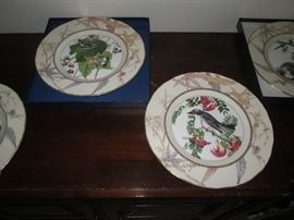 Rec. Room Right:  Royal Worcester Audubon Bird Plates