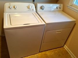 Washer and dryer in great condition