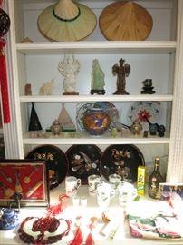 Platters, Jade Statue, Multi Arm Gwan Yin Statues, Chinese Knot Tassels, Darkie Tooth Paste