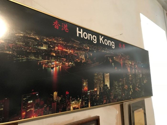 Large Hong Kong Mural