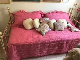 Brass Day Bed
