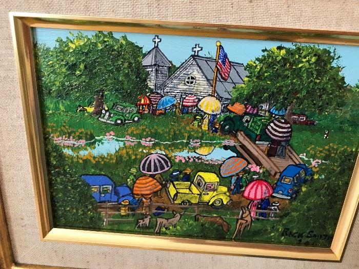 Original Oil Painting by Louisiana Artist Rick Smith