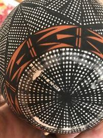Signed Jay Vallo Acoma Pueblo Pottery
