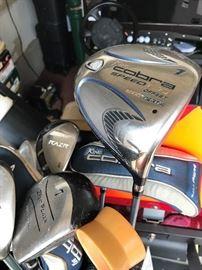 Lots of Nice Ladies Golf Clubs