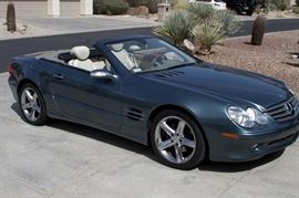 2006 Mercedes SL500 Convertible