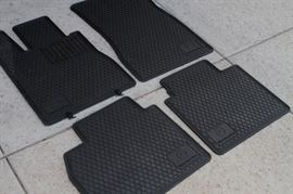 All weather floor mats for 1995 Mercedes S500 B