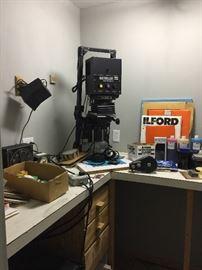 Dark Room equipment