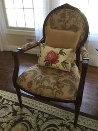 Gorgeous upholstered armchair