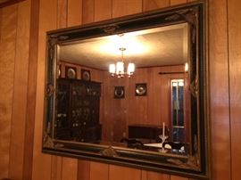 large bevel mirror