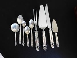 Royal Danish serving pieces