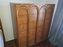 This tall dresser is another in the vintage Thomasville bedroom set!