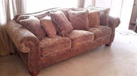 """La-Z-Boy sofa/couch(8ft long-3ft 4""""depth), chair and ottoman and recliner"""