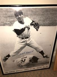Phil Rizzutto signed picture