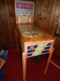 "1940 Genco ""Blondie"" Original Pinball Machine - Fantastic Graphics & (as always) Priced to Sell!"