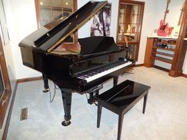 K. Kawai Grand Piano -1998, Model RX1. - Serial #2316839 - Player piano