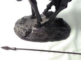 Horse Statue  http://www.ctonlineauctions.com/detail.asp?id=685526