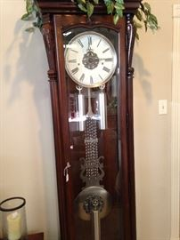 Very large grandfather clock