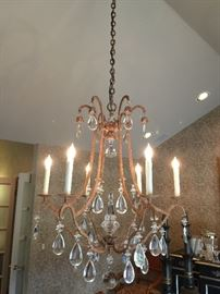 "1. Holly Hunt New York Primitive Chandelier (30"" Dia x 36"" H)"