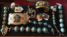 Sterling/Turquoise/Other nice Jewelry