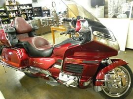 1998 Honda Goldwing Motorcycle