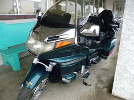 1995 Honda Goldwing Motorcycle