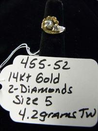 14kt Gold & Diamonds